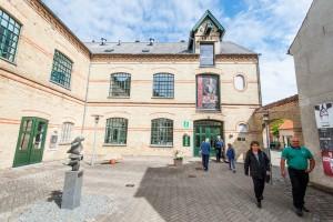 Kulturhuset Tobaksgården med turistkontor.